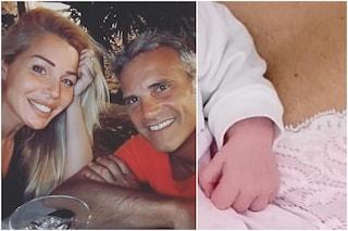 Giulia Montanarini mamma a 44 anni: è nata Alice, frutto della relazione con Gianmaria Papa