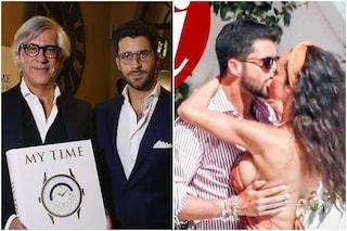 Chi è Giulio Fratini, fidanzato di Raffaella Fico il cui padre possiede orologi per 1 miliardo