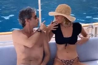 Alessia Marcuzzi e Paolo Calabresi Marconi a Positano, la coppia dimentica il gossip De Martino