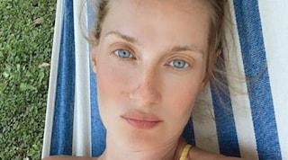 Eva Riccobono mamma bis: è nata Livia, la seconda figlia avuta con Matteo Ceccarini