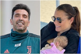 """Rapporti distesi tra Alena Seredova e Buffon: """"Mi ha fatto gli auguri per la nascita di mia figlia"""""""