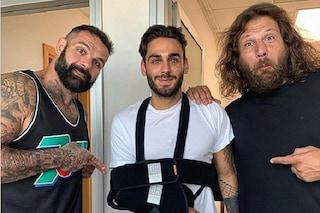 Incidente per Alberto Urso, frattura al braccio alla vigilia del suo compleanno