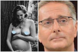 """Martina pronta al parto: """"Non fate figli in quarantena d'estate"""", Paolo Bonolis forse non ci sarà"""