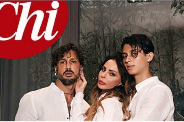 Foto di Chi. Fabrizio Corona, Nina Moric e il figlio Carlos Maria