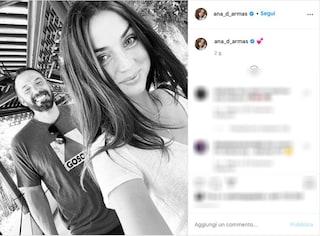 Ben Affleck e Ana De Armas, il primo selfie di coppia ufficiale