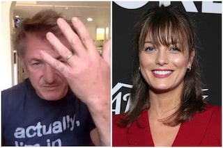 """Sean Penn mostra la fede e conferma le nozze con Leila George: """"Abbiamo fatto un matrimonio Covid"""""""