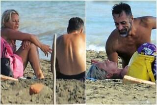 Antonella Elia e Pietro Delle Piane al mare, la paparazzata dopo la rottura a Temptation Island