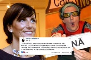 Il commento sessista del comico Enrique Balbotin alla parlamentare Paita non era diretto a lei