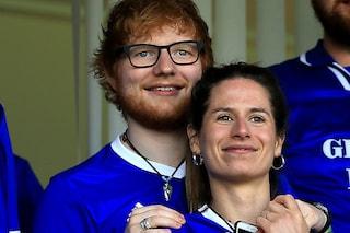 Ed Sheeran sta per diventare padre, la moglie incinta durante il lockdown