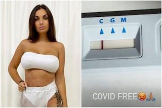 """Elettra Lamborghini fa il test rapido per il coronavirus, l'esito: """"Non ce n'è Coviddi"""""""