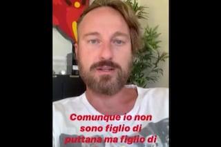 """Francesco Facchinetti: """"Un uomo mi ha detto 'Figlio di p**, muori', volevo ammazzarlo di botte"""""""