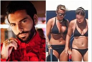 """Paola Turci e Francesca Pascale, Federico Fashion Style: """"Sono loro amico, non ne sapevo nulla"""""""