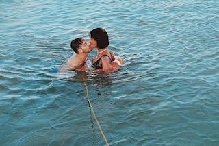 """Georgette Polizzi: """"Per la sclerosi multipla devo fare il bagno in mare con salvagente e cima"""""""
