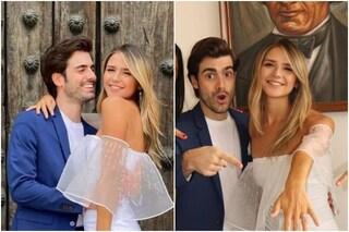 """Pasquale Di Nuzzo e Giovanna Reynaud si sono sposati: """"Una meravigliosa favola sta per iniziare"""""""