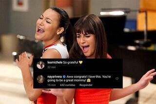 Nel giorno in cui Lea Michele è diventata mamma, i fan pubblicano gli auguri di Naya Rivera
