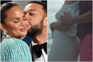 John Legend e Chrissy Teigen aspettano il terzo figlio, è un maschio