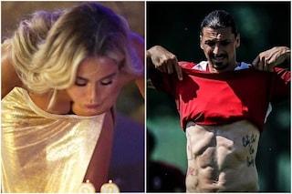 """""""Tra Diletta Leotta e Zlatan Ibrahimovic c'è qualcosa"""", ma lui è sposato con Helena Seger"""