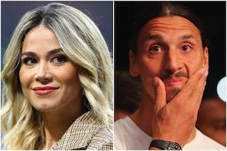 """Diletta Leotta nega il flirt con Zlatan Ibrahimovic: """"Tra loro solo un rapporto professionale"""""""