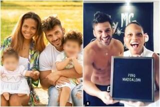 Marco Maddaloni e Romina Giamminelli svelano il nome del loro terzo figlio: si chiamerà Pino
