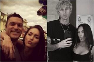 """Megan Fox con Machine Gun Kelly, Brian Austin Green: """"Situazione terribile ma le auguro il meglio"""""""