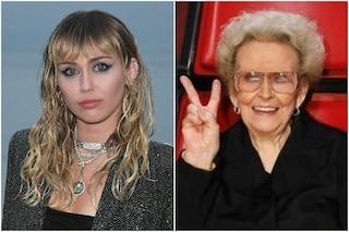 """È morta la nonna di Miley Cyrus: """"Sarai sempre la mia ispirazione, la luce in un mondo oscuro"""""""