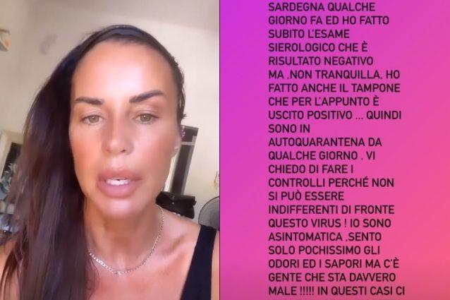 Antonella Mosetti ha il Covid, lo sfogo: