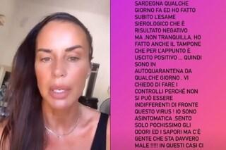 """Antonella Mosetti positiva al coronavirus: """"Sono asintomatica, sento poco odori e sapori"""""""