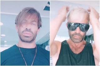 Il colpo di testa di Gianni Sperti: il ciuffo biondo lo annoia e i capelli diventano platino