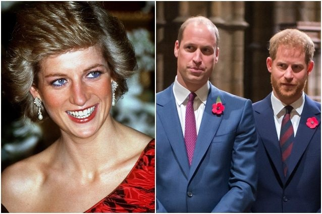 Lady Diana, la commovente rivelazione di Harry e William
