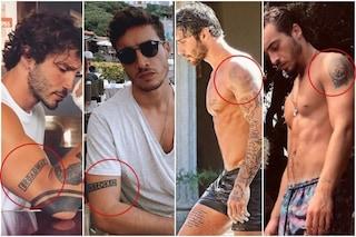 Antonino Spinalbese come Stefano De Martino, gli uomini di Belen hanno gli stessi tatuaggi