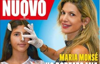 """Maria Monsè: """"Mia figlia Perla si è ritoccata il naso, a 14 anni aveva il complesso"""""""