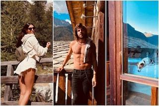 Cecilia Rodriguez a Venezia da sola, poi in montagna con Ignazio Moser: la crisi sarebbe finita