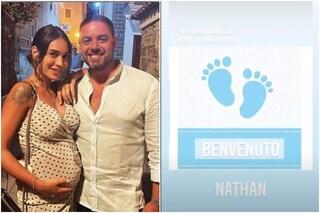 """È nato il figlio di Fabiola Cimminella e Daniele Muscariello: """"Benvenuto Nathan"""""""