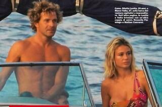 Diletta Leotta in barca con Marco Valta, ex di Anna Safroncik che lei nasconde nelle foto social