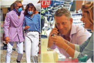 """Lapo Elkan e Joana, dolci abbracci a Portofino: """"Mai amato nessuna come lei"""""""