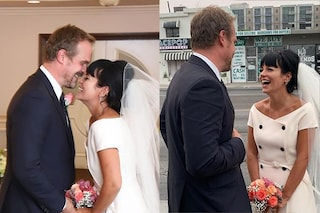 Lily Allen e David Harbour si sposano a Las Vegas, tutto pronto anche per le vere nozze