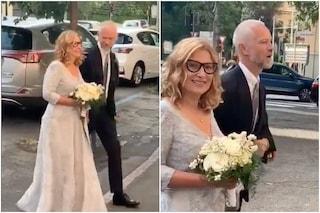 Nicoletta Mantovani e Alberto Tinarelli sposi, foto e video del matrimonio della vedova di Pavarotti