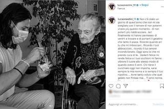 """Luca Onestini e la nonna di 100 anni finalmente insieme: """"Oggi sono io che mi prendo cura di te"""""""