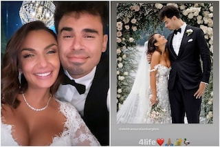 """Matrimonio di Elettra Lamborghini e Afrojack, il primo post da sposati: """"Insieme per la vita"""""""