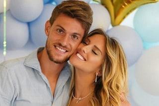 Michela Persico e Daniele Rugani annunciano il nome del bebè in arrivo: si chiamerà Tommaso