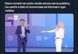 Francesco Vecchi si è sposato, l'annuncio di Federica Panicucci a Mattino 5