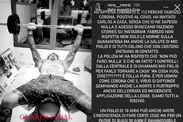 Fabrizio Corona censurato da Barbara D'Urso:
