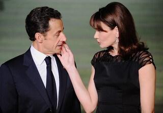 """Carla Bruni: """"Sarkozy è un uomo fragile, per questo l'ho sposato"""""""