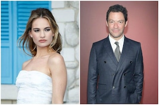Tra Lily James e Dominic West è davvero scoppiato l'amore?