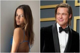 """""""Brad Pitt è di nuovo single"""": l'amore con la modella Nicole Poturalski sarebbe già finito"""