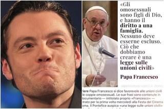 """Tiziano Ferro ringrazia il Papa per l'apertura alle unioni civili: """"La mia fede forte per sempre"""""""