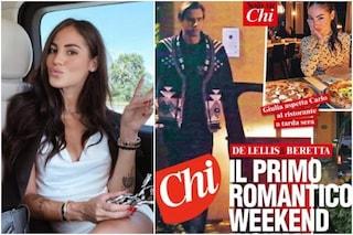 Giulia De Lellis e Carlo Beretta paparazzati insieme, le foto del loro weekend romantico
