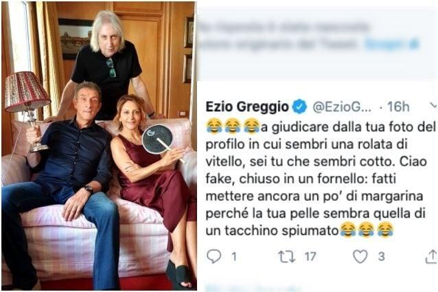 Ezio Greggio contro un hater: