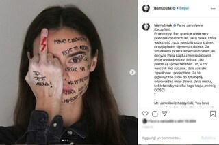 """Kasia Smutniak difende il diritto all'aborto in Polonia: """"Guardo il mio paese con orrore"""""""