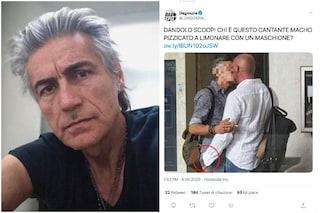 """Ligabue smentisce il bacio gay: """"Non ero io, attenti alle fake news se volete un mondo sano"""""""